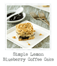 Simple Lemon Blueberry Coffee