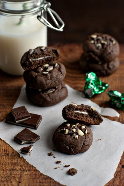 Mint Chocolate Cookies | My Baking Addiction
