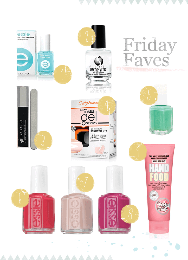 Post image for Friday Faves: Nail Edition