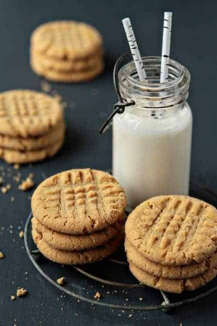 Post image for Honey-Peanut Butter Cookies