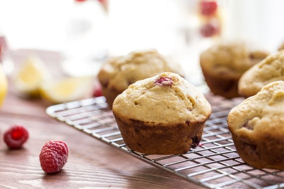 Post image for Raspberry Lemon Cornmeal Muffins