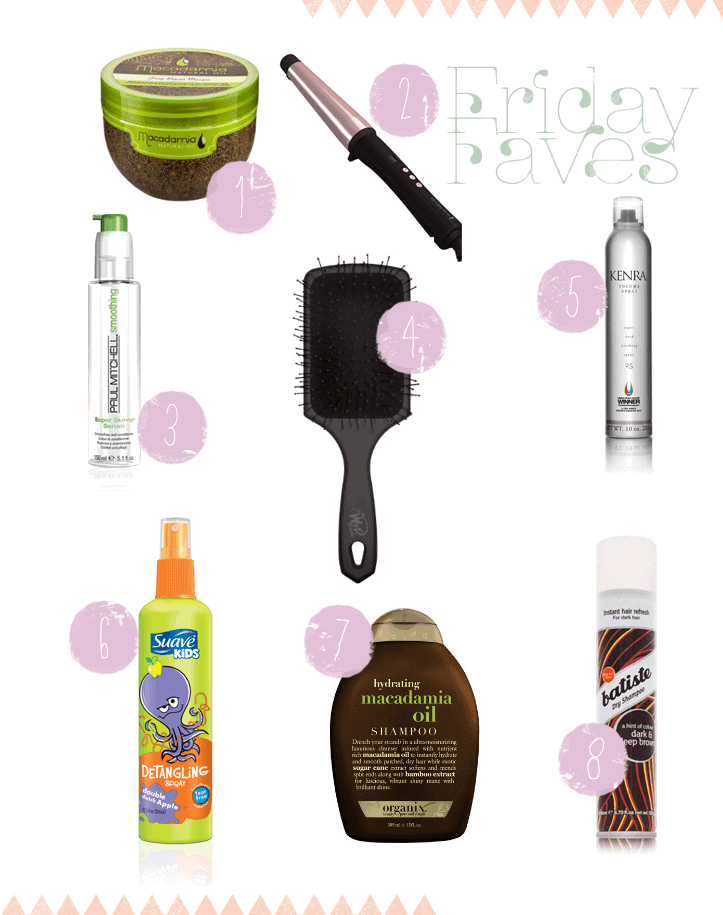 Post image for Friday Faves: Hair Care Edition