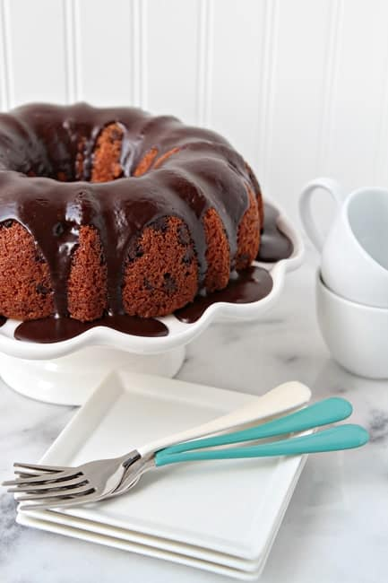 Post image for Chocolate Chip Bundt Cake