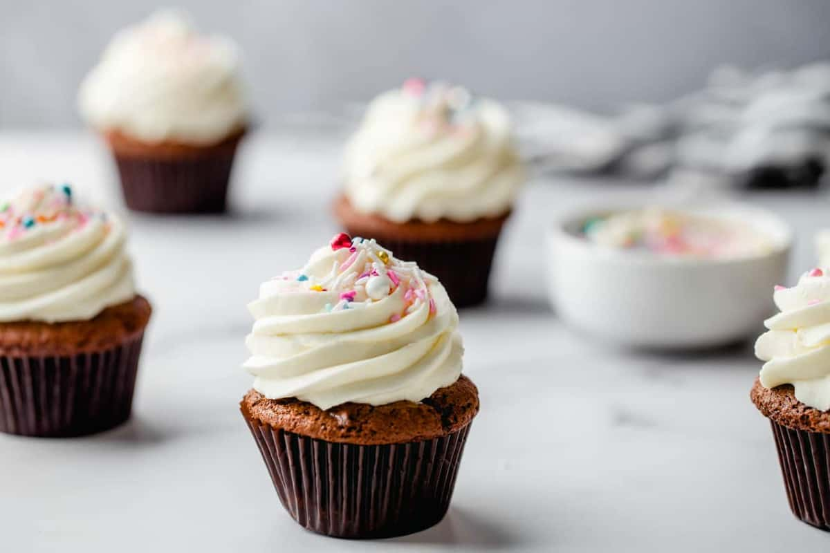 Doctored Cake Mix is an easy way to get perfect cupcakes every time