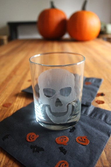 Halloween Etched Glasses My Baking Addiction