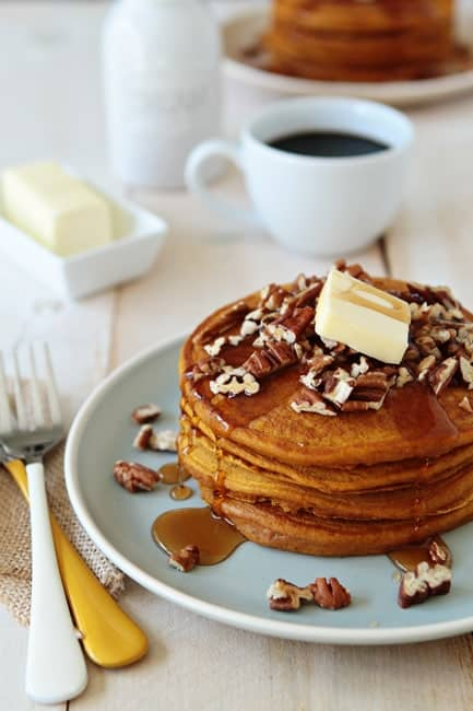 Post image for Pumpkin Pancakes