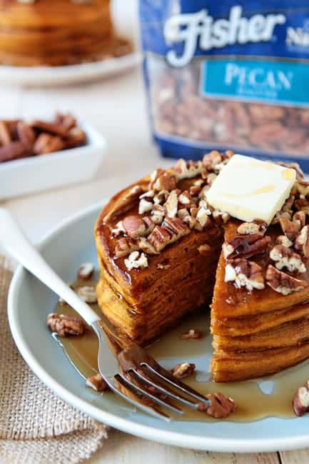 Spiced Pumpkin-Pecan Pancakes Recipes — Dishmaps