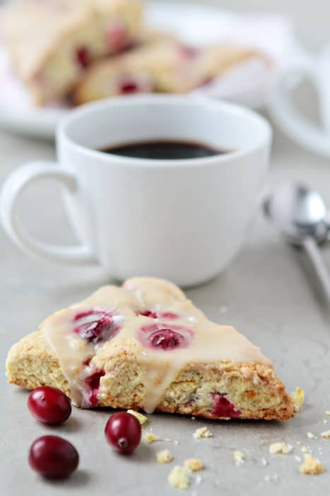 Cranberry Orange Scones | My Baking Addiction