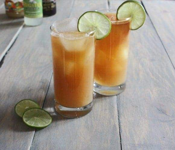 Post image for Vanilla-Infused Pear Dark n' Stormy
