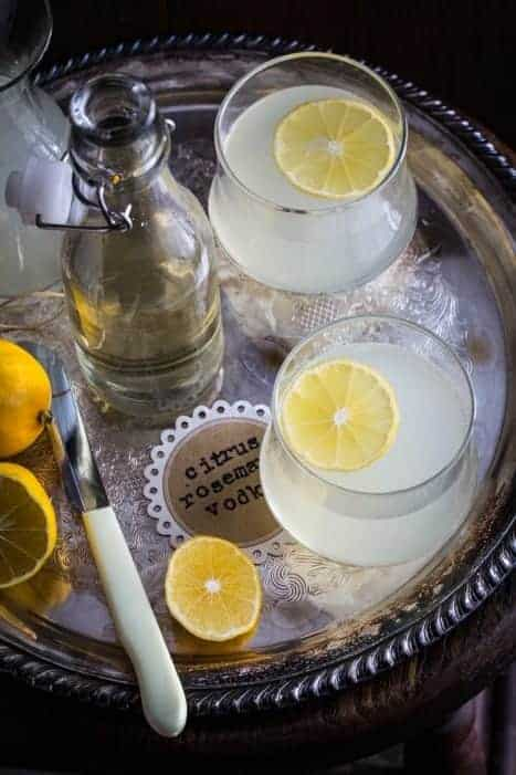 Light and refreshing, these Citrus Rosemary Vodka Spritzers fit ...