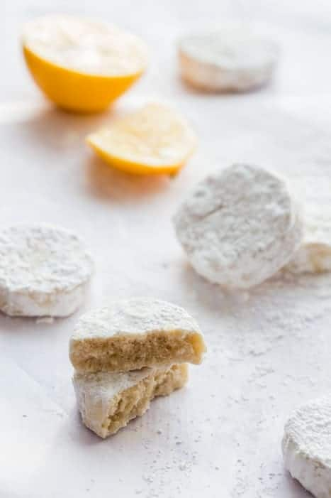 These light and tender Meyer Lemon Meltaways are sweet, citrusy and ...
