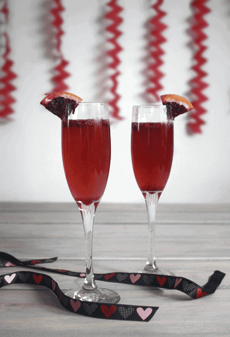 Post image for Valentine's Champagne Cocktail