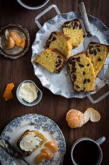 Orange choc quick bread - Titel