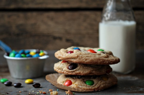 Post image for Giant M&M Cookies