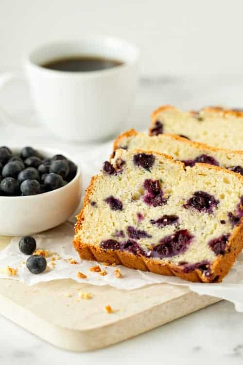 lemon blueberry bread recipe | mybakingaddiction.com
