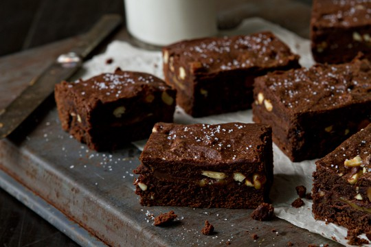 ... salted caramel – from chocolate candies to Salted Caramel Blondies