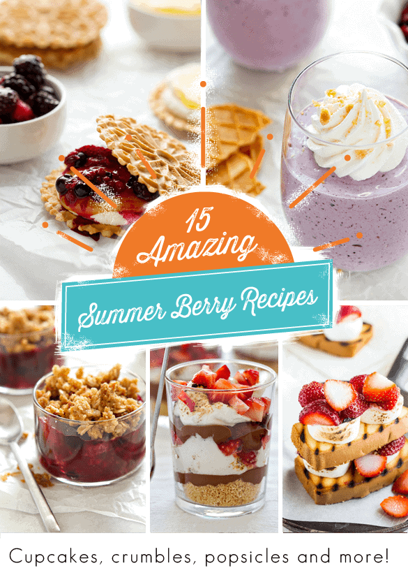 Berry Recipes from My Baking Addiction