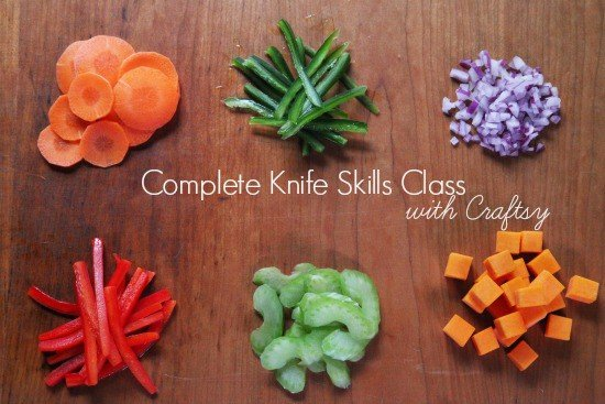 Post image for Free Complete Knife Skills Class with Craftsy