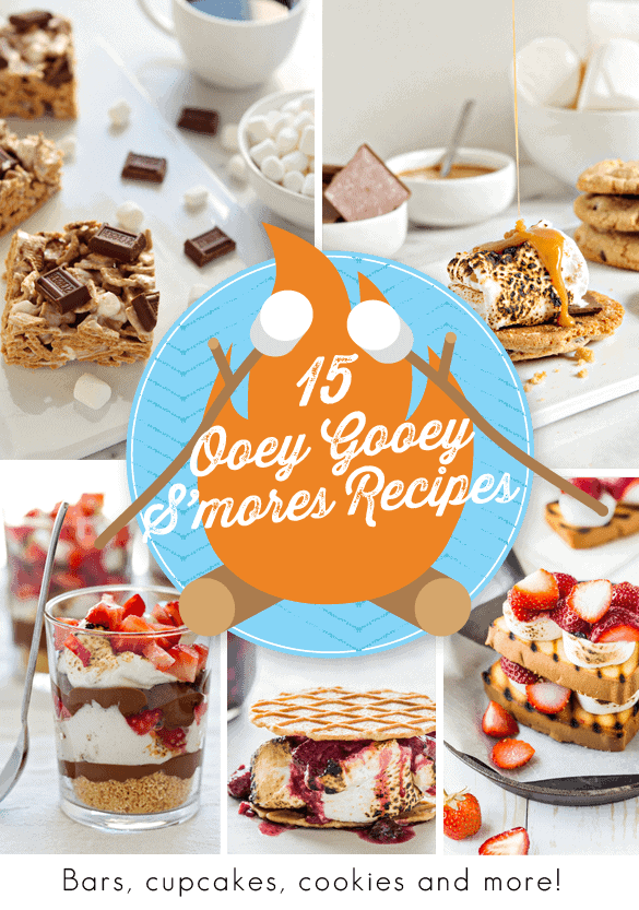 15 Ooey Gooey S'mores Recipes