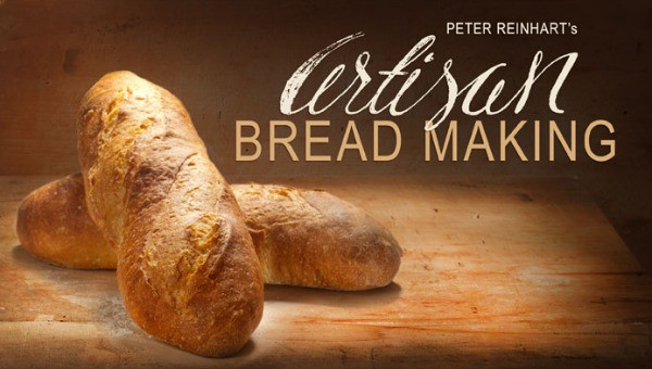 Post image for Giveaway: Artisan Bread Making Class with Peter Reinhart at Craftsy