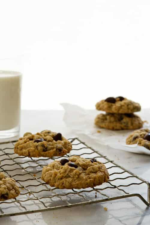 Oatmeal Raisin Cookies Photo on MyBakingAddiction.com
