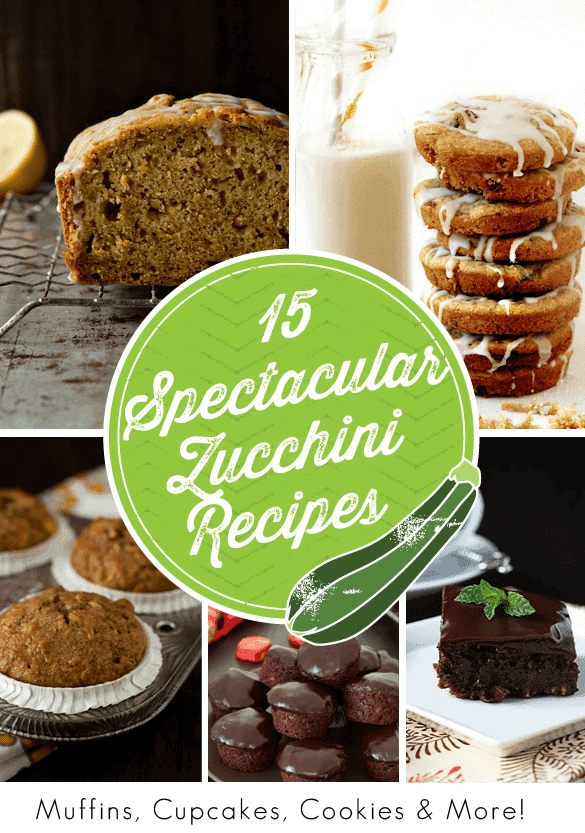15 Spectacular Zucchini Recipes