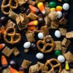 pumpkin spice chex party mix from my baking addiction