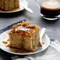 Make-Ahead Banana Coffee Cake