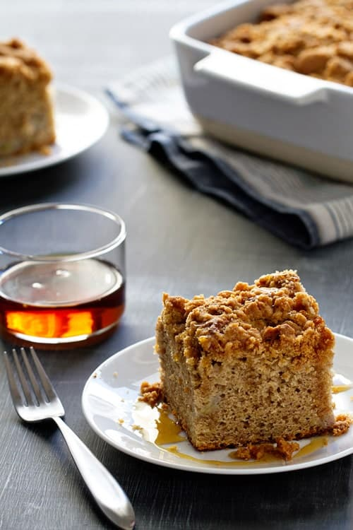 Make Ahead Banana Coffee Cake on My Baking Addiction