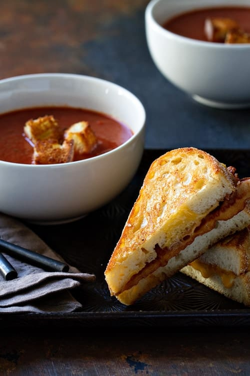 The Best Grilled Cheese with Bacon and an Egg on My Baking Addiction