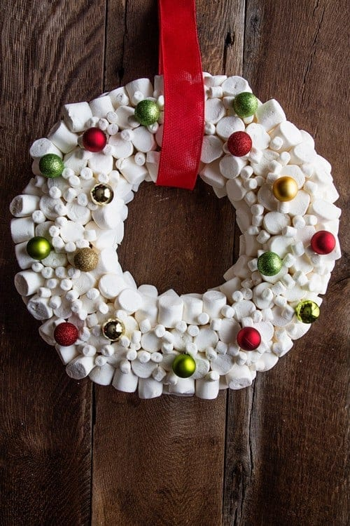 How To Make A Marshmallow Wreath My Baking Addiction