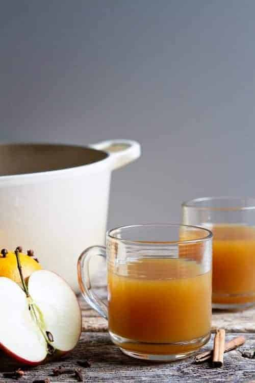 Lusciously spicy Holiday Wassail is perfect for your Christmas party.