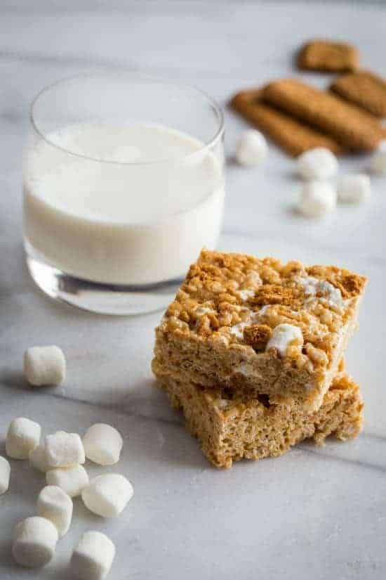 Biscoff Marshmallow Treats