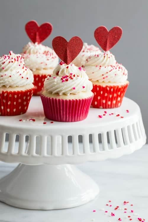 Delicious Homemade Funfetti Cupcakes Are So Easy To Make And Perfect For  Just About Any Occasion. These Cuties Are Dressed Up For Valentineu0027s Day,  ...