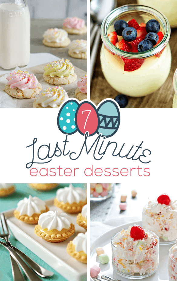 Post image for 7 Last Minute Easter Desserts