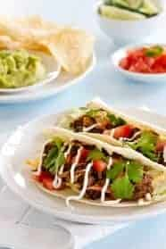 Chipotle Style Barbacoa can be used for so many things. Tacos, quesadillas, or burritos.