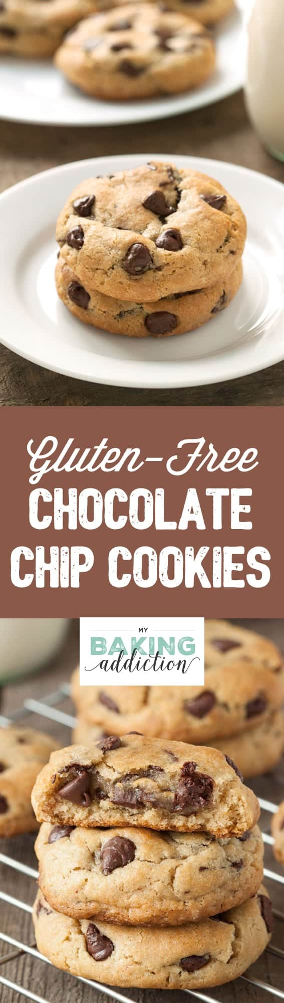 These gluten-free chocolate chip cookies are amazingly soft and chewy. They're sure to rival your current favorite!