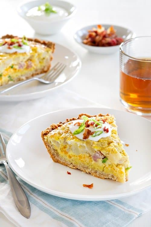 Broccoli Quiche With Mashed Potato Crust Recipes — Dishmaps