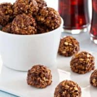 Chocolate Almond Granola Bites
