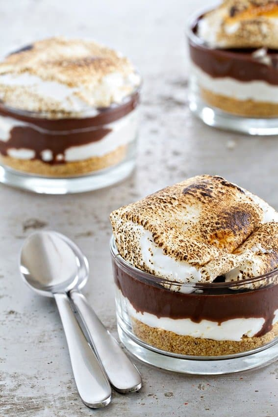 Does it get any better than S'mores No Bake Cheesecake? Get ready for summer dessert perfection!