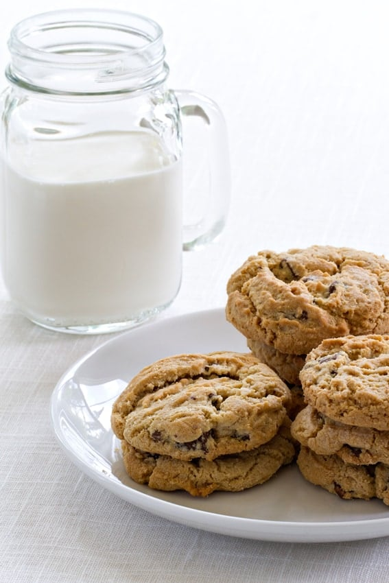 Salted Chocolate Chunk Cookies are a sweet and salty simple treat ...