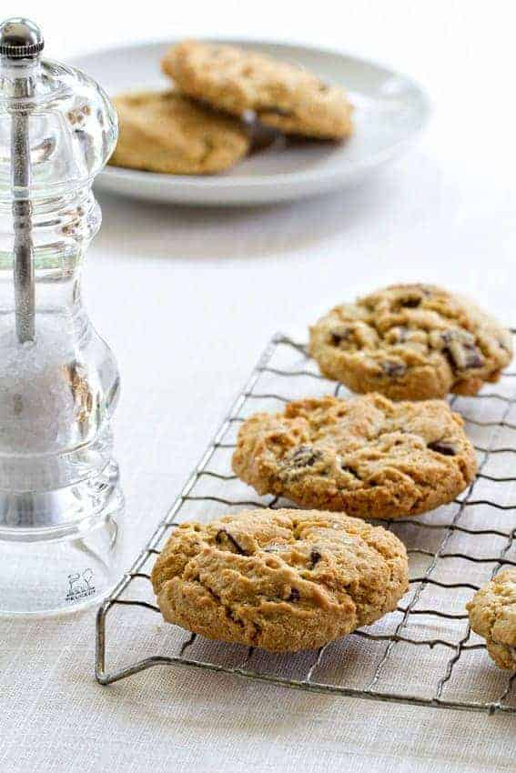 Salted Chocolate Chunk Cookies are a sweet and salty simple treat. So darn delicious!