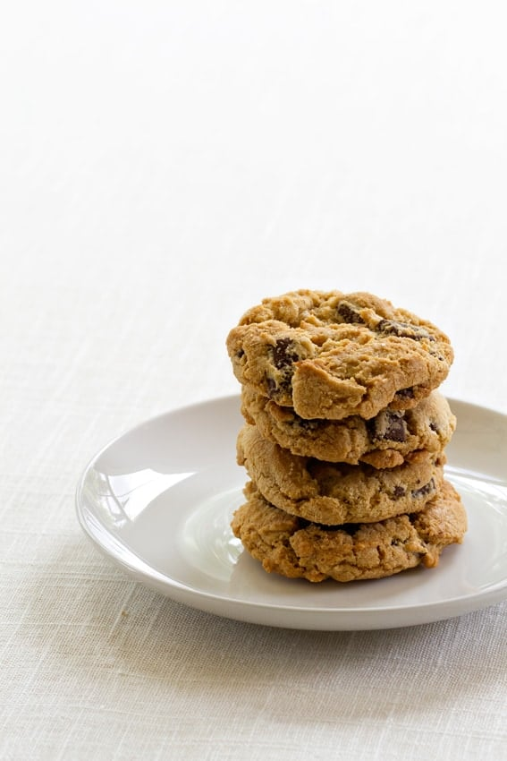 Salted Chocolate Chunk Cookies are a sweet and salty simple treat. They're sure to be your new favorite recipe!