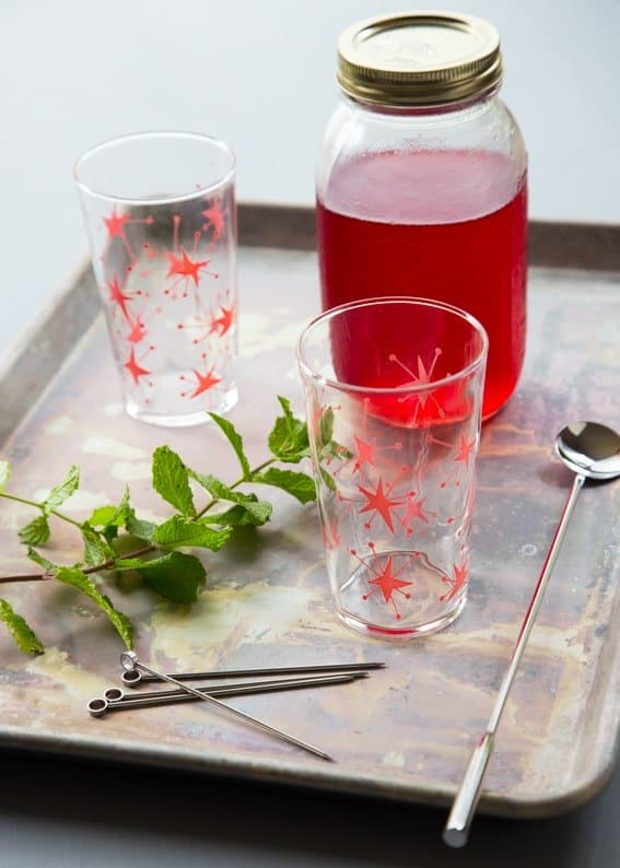 Making Raspberry Shrub couldn't be easier. You'll be mixing it into everything!
