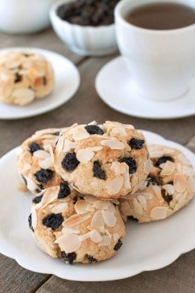 Gluten-Free Blueberry Scones are perfect for breakfast or a midday snack with a cup of coffee. A must-make!