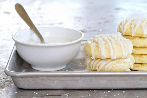 Pound cake cookies are perfect for tucking into the lunchbox. They're nut-free, and so delish!