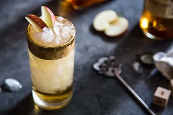 Apple Cider Swizzle is brimming with rum, bitters, and maple syrup. Could you ask for anything more?