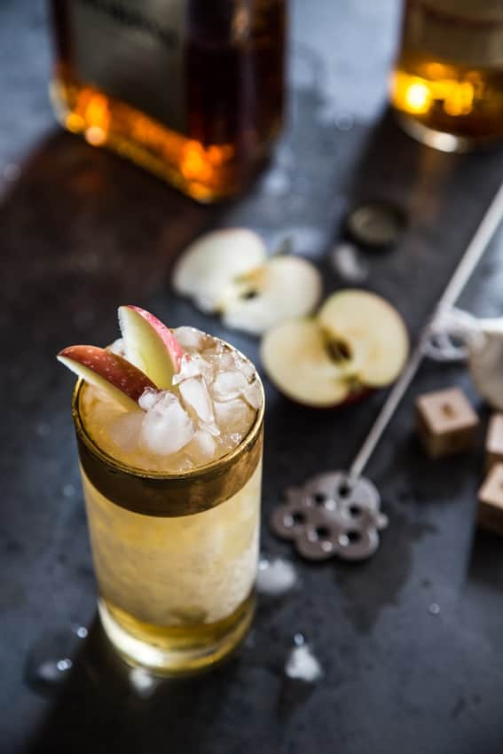 Apple Cider Swizzle is an adult version of hot apple cider. You won't be able to resist!