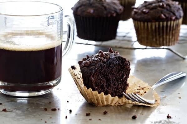 Chocolate Zucchini Muffins have a bit of vegetable popped into an extraordinary muffin. You won't be able to stay away!