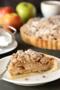Gluten-Free Apple Tart is amazing for those who can't tolerate gluten. So, so good